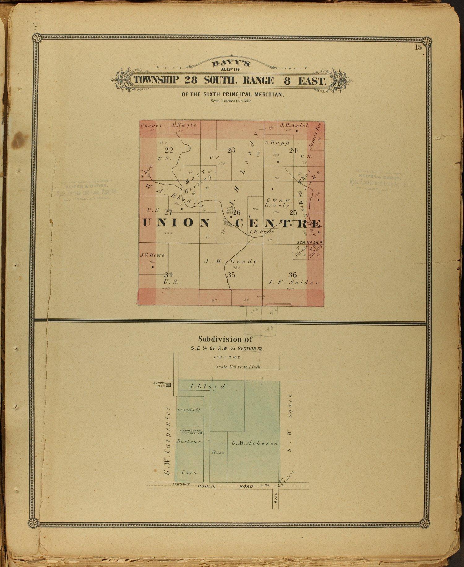Atlas of Elk County - 15