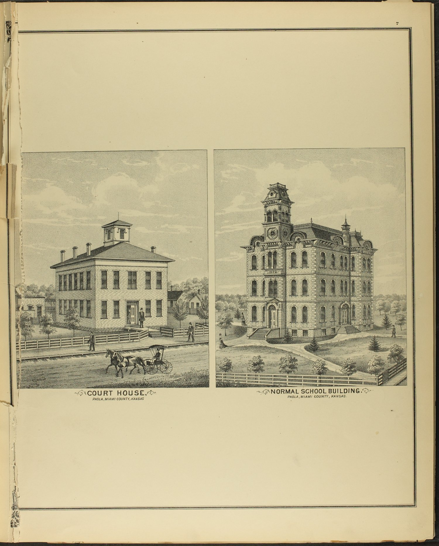An illustrated historical atlas of Miami County, Kansas - 7