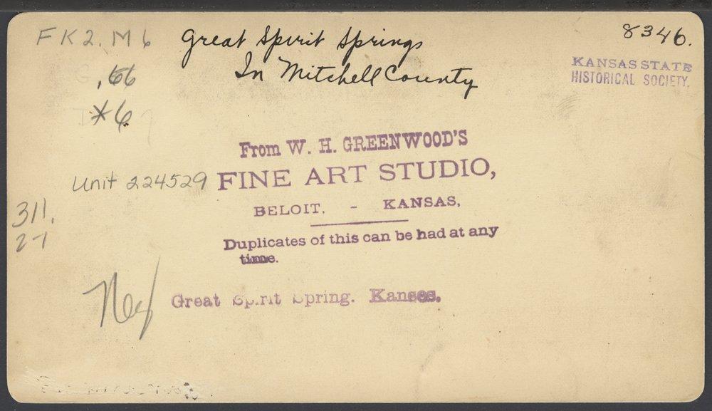 Waconda Springs in Mitchell County, Kansas - 2
