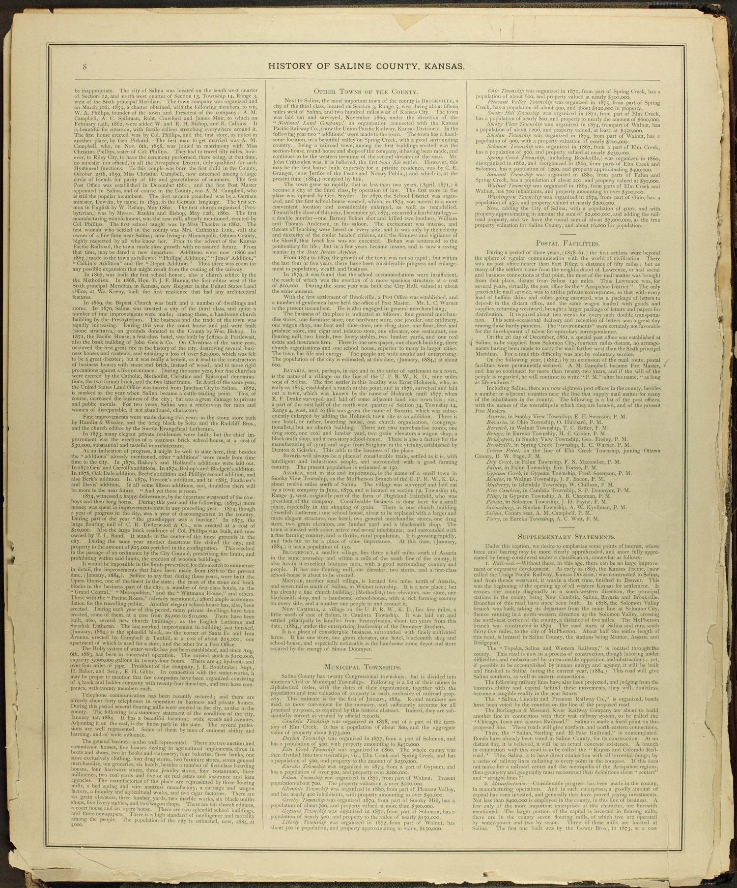 Edwards' Atlas of Saline Co., Kansas - 8