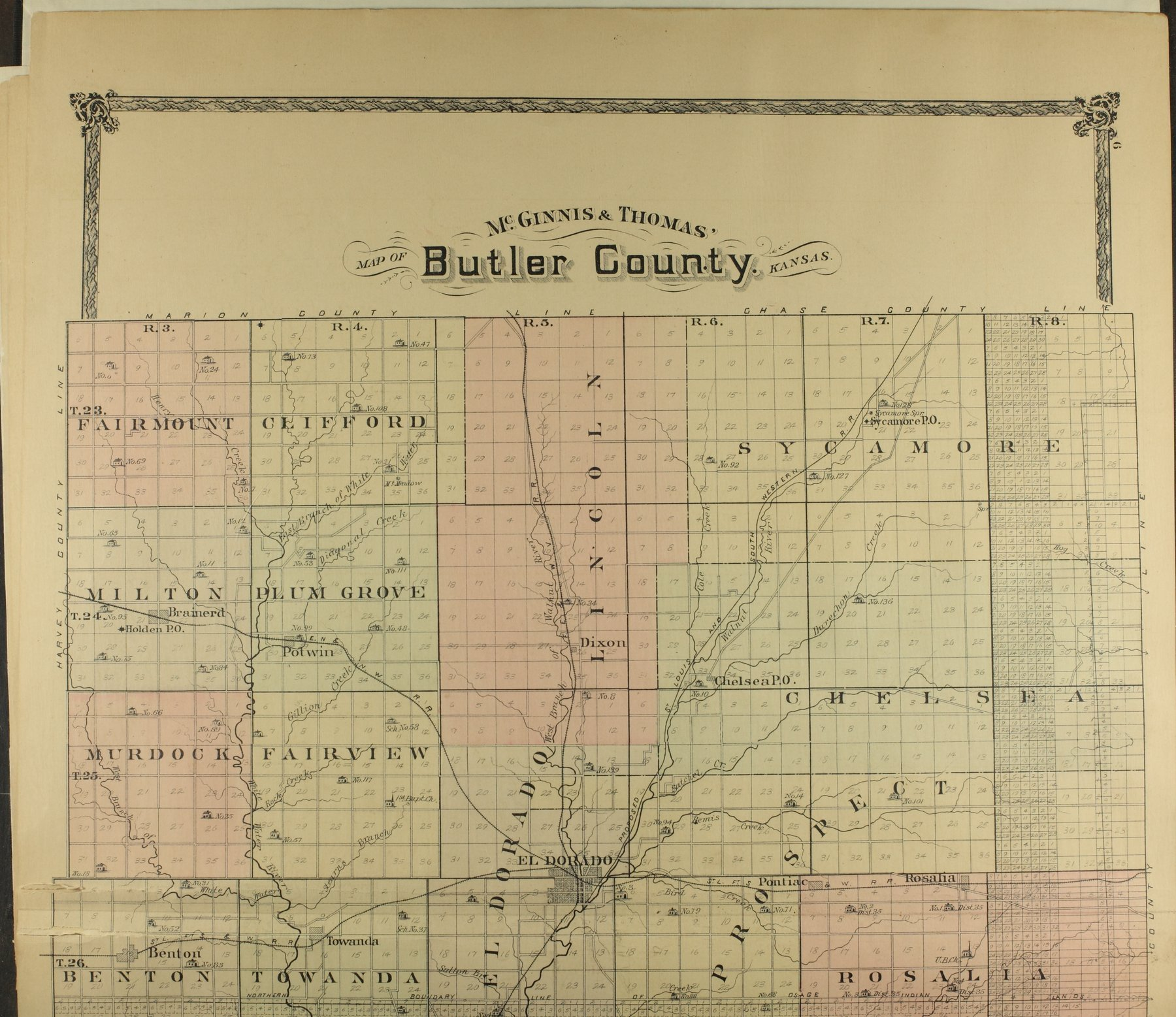 Historical atlas of Butler County, Kansas - 6