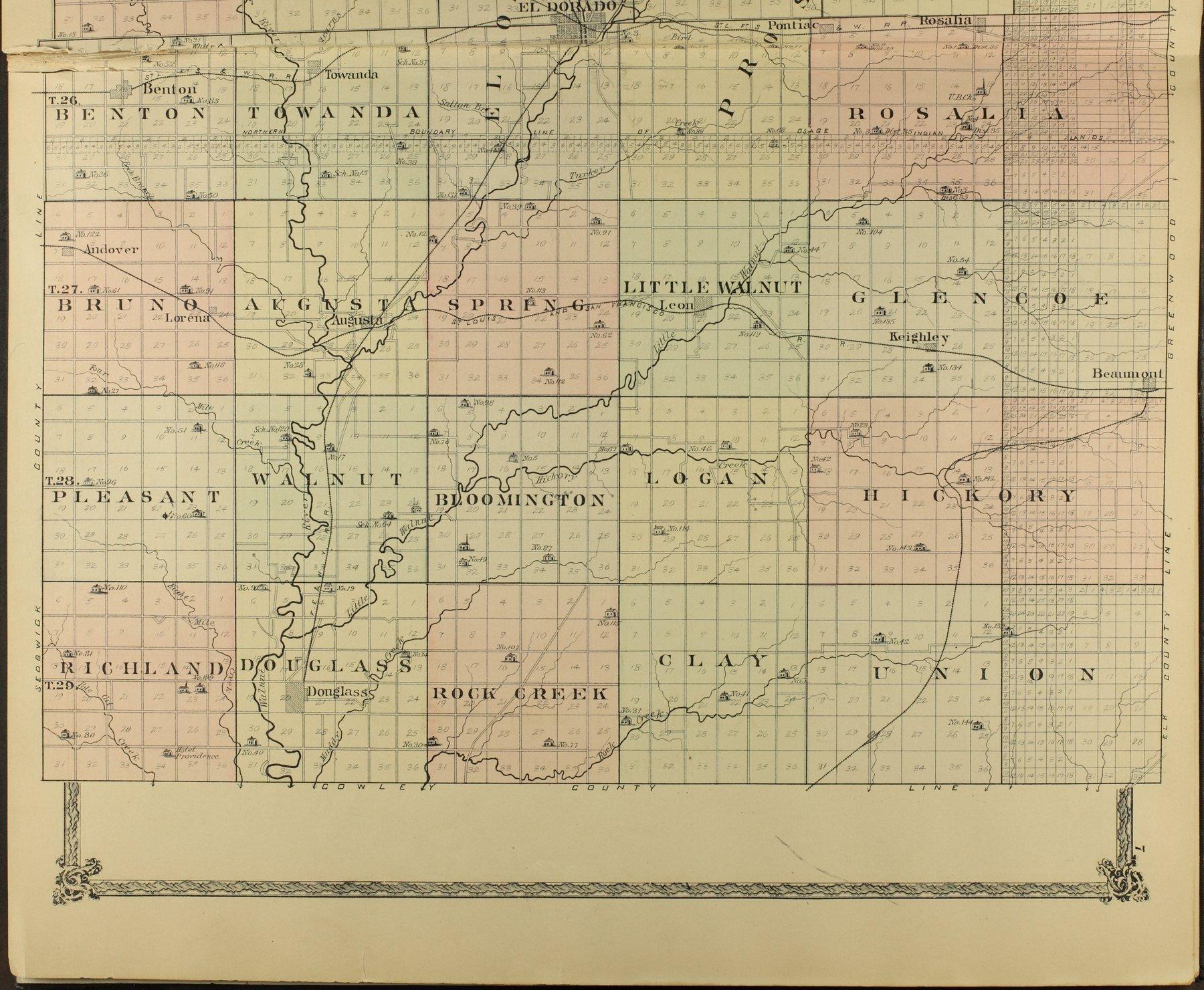 Historical atlas of Butler County, Kansas - 7