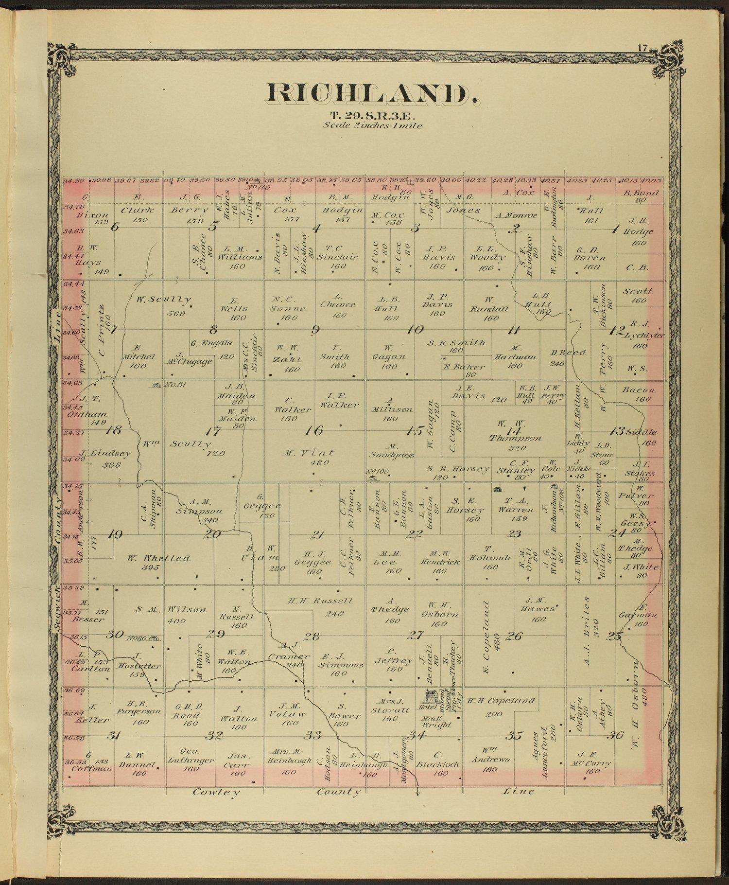 Historical atlas of Butler County, Kansas - 17