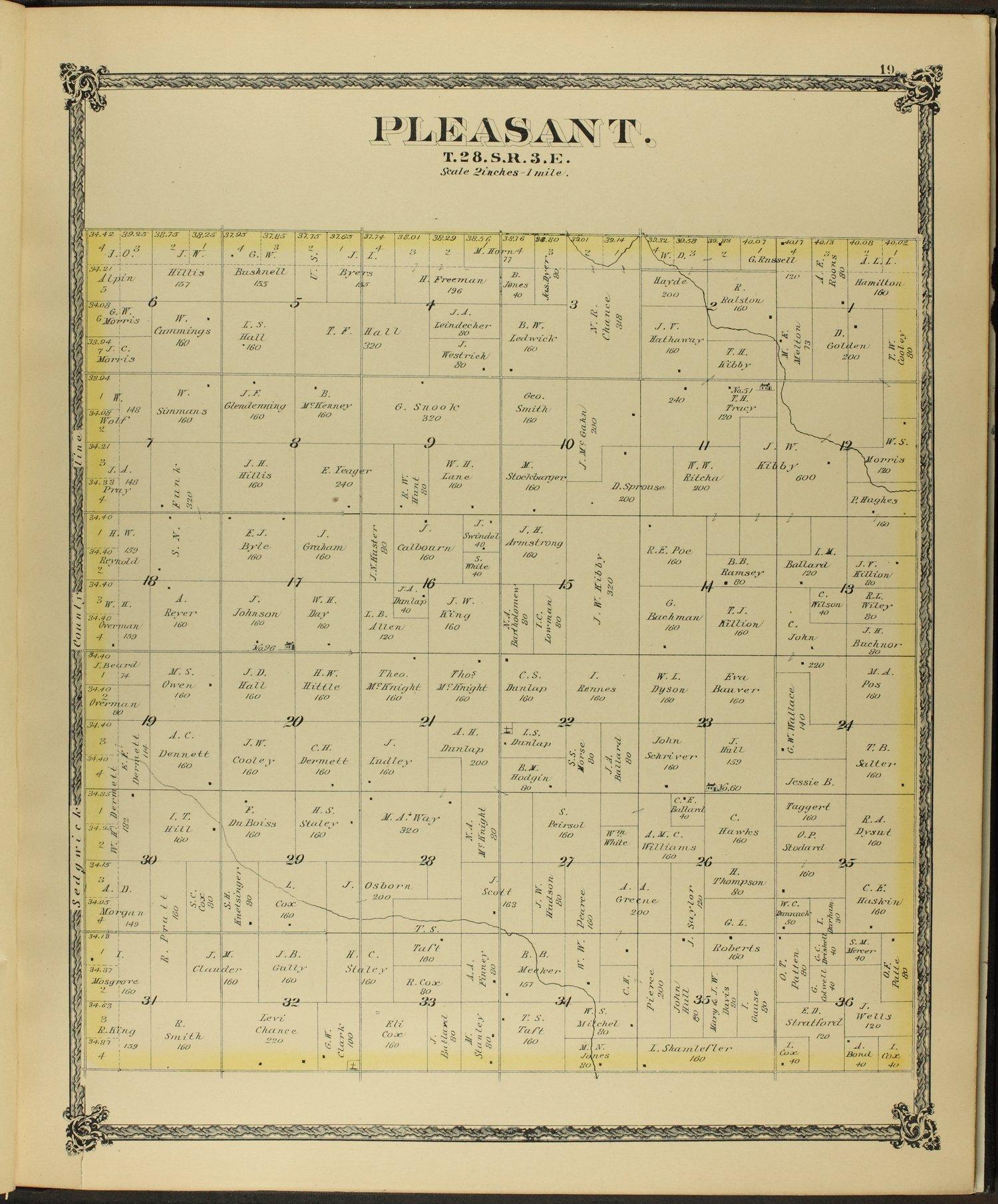 Historical atlas of Butler County, Kansas - 19