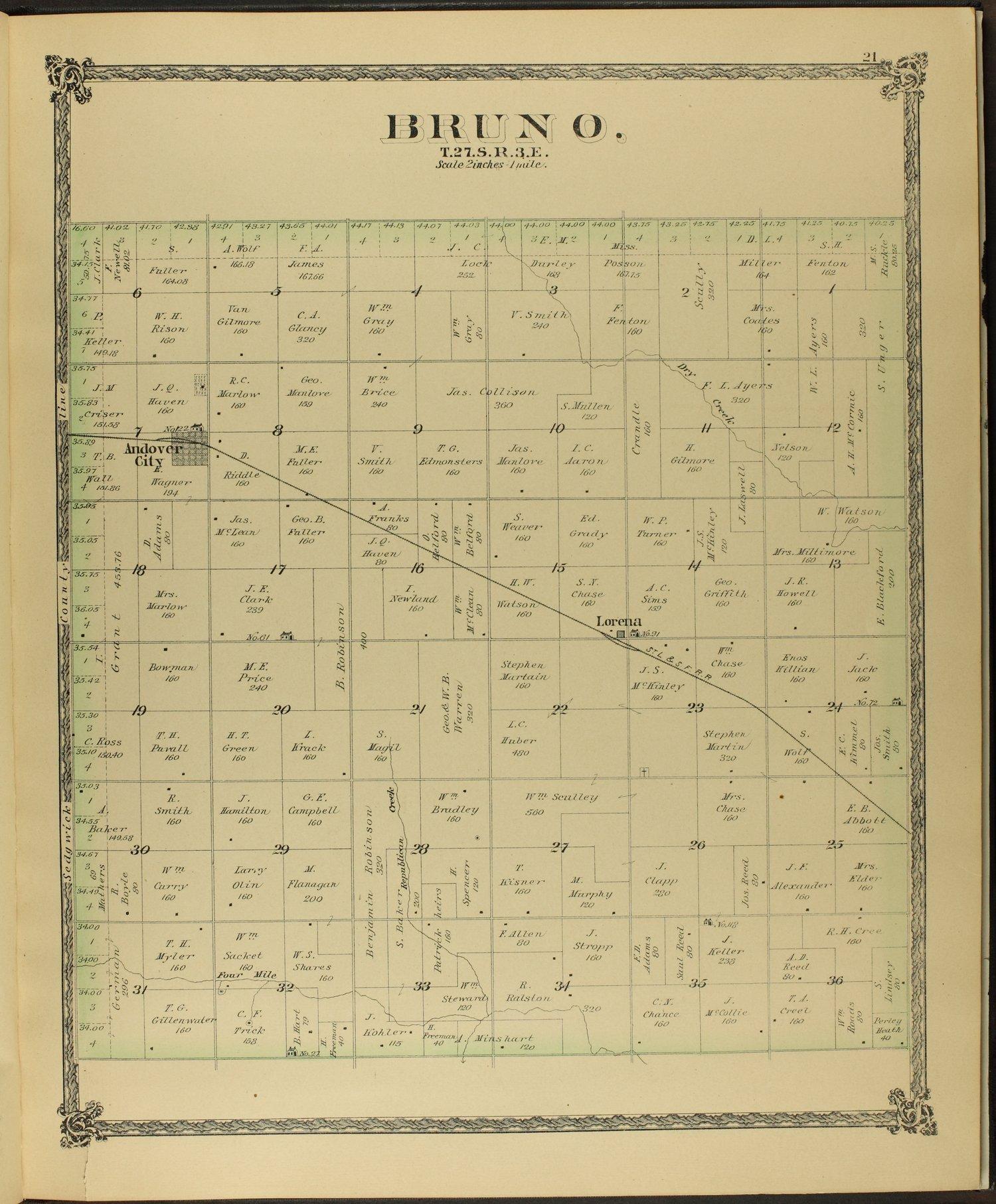 Historical atlas of Butler County, Kansas - 21