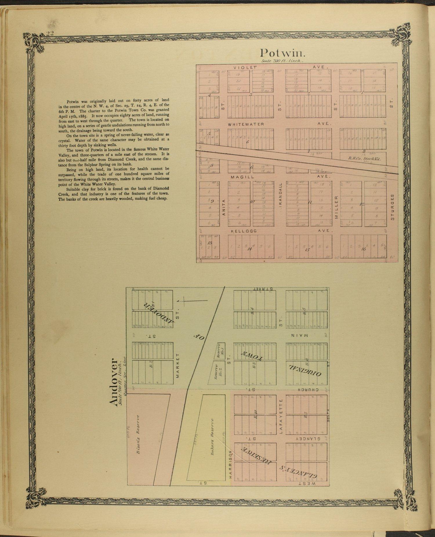 Historical atlas of Butler County, Kansas - 22