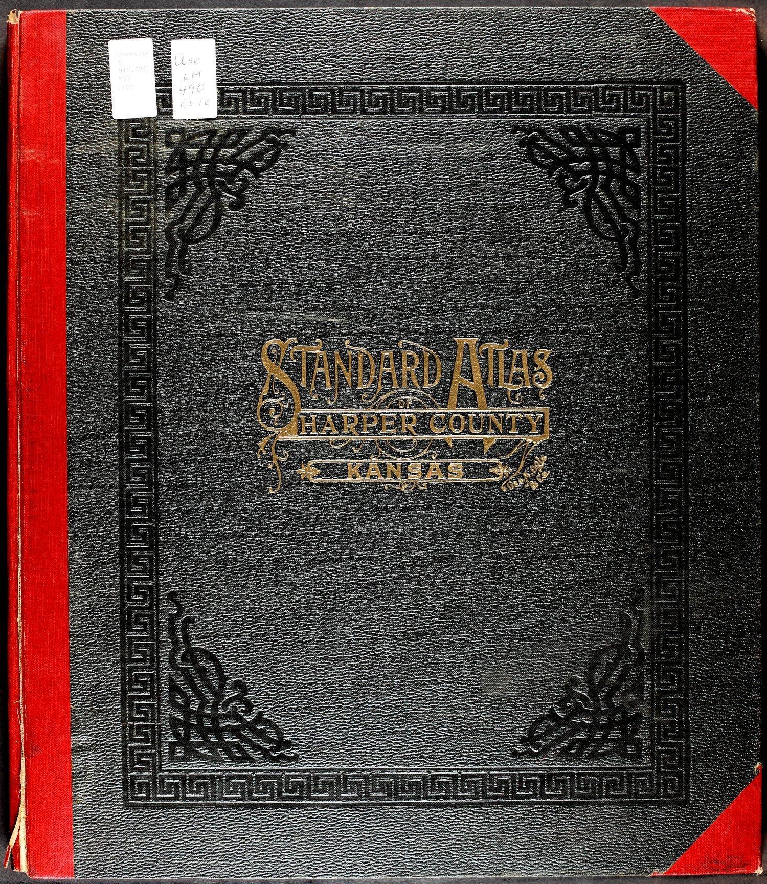Standard atlas of Harper County, Kansas - Front Cover