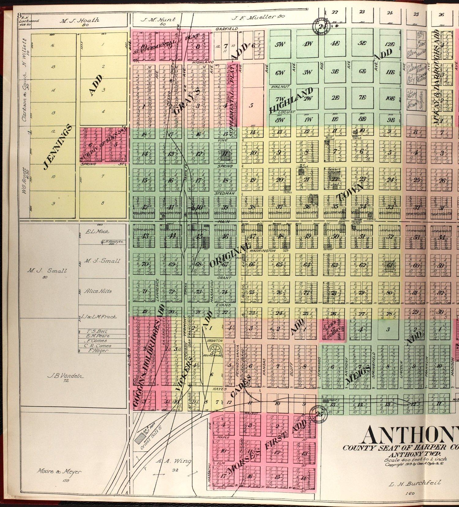 Standard atlas of Harper County, Kansas - 9