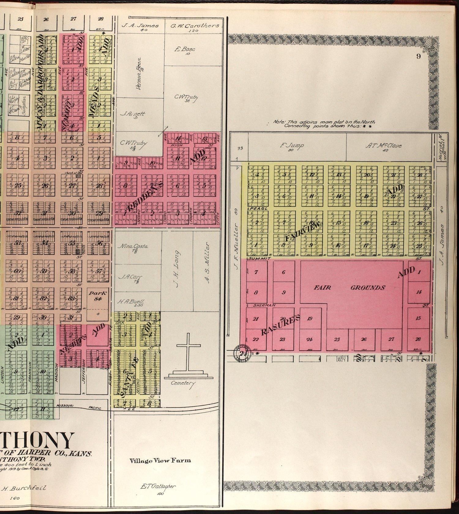 Standard atlas of Harper County, Kansas - 8