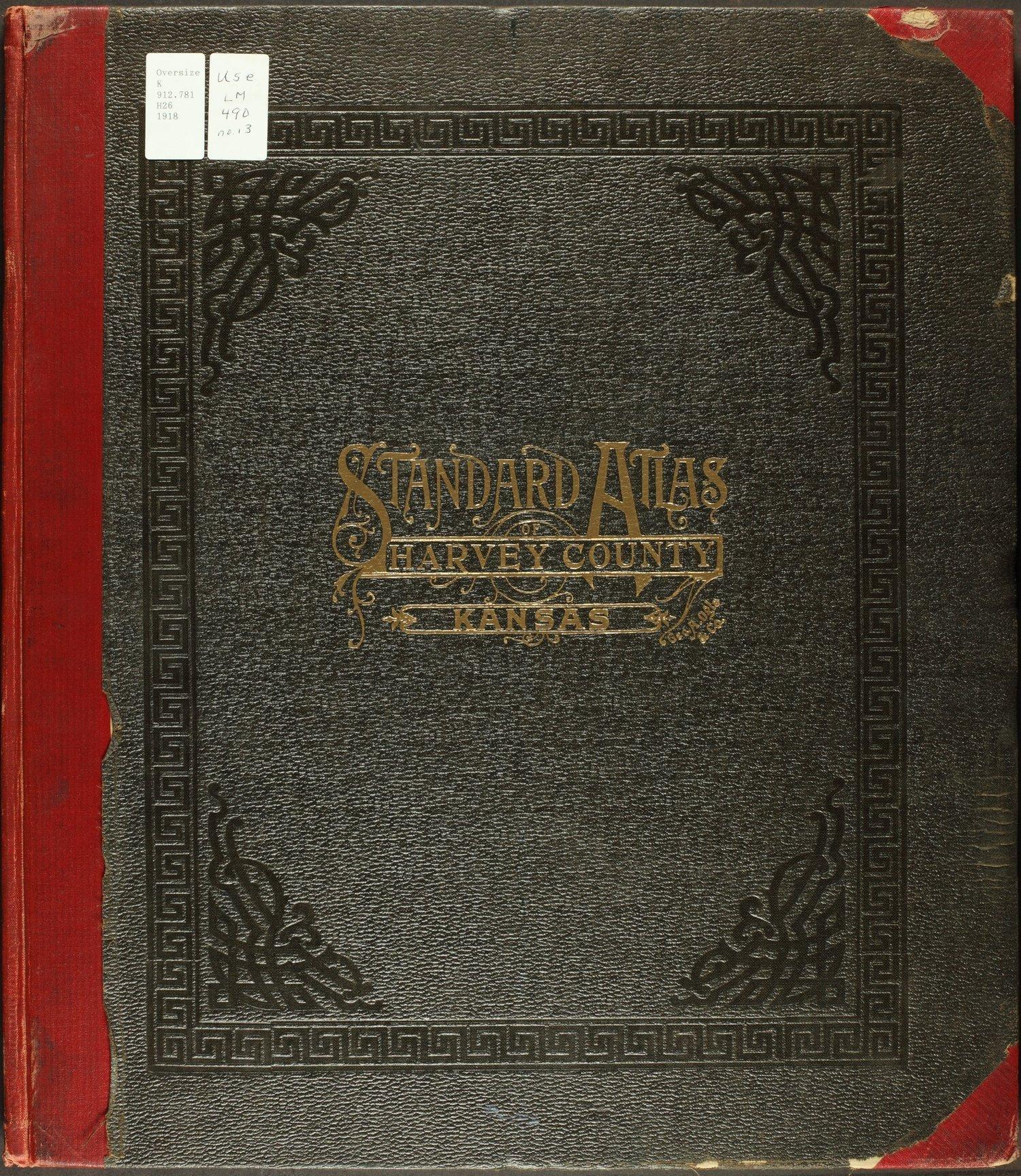 Standard atlas of Harvey County, Kansas - Front Cover