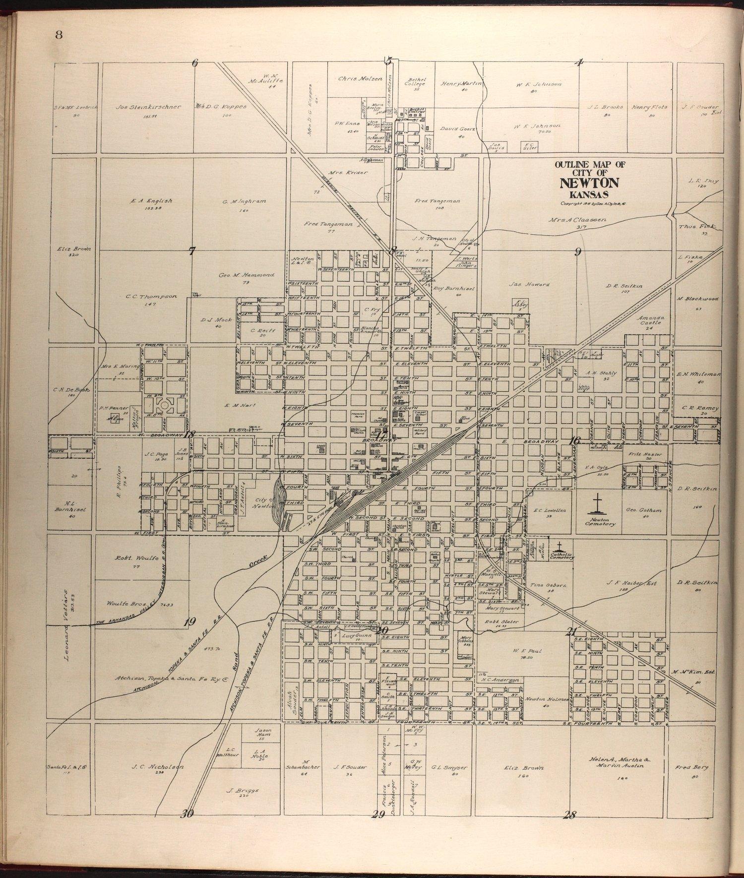 Standard atlas of Harvey County, Kansas - 8