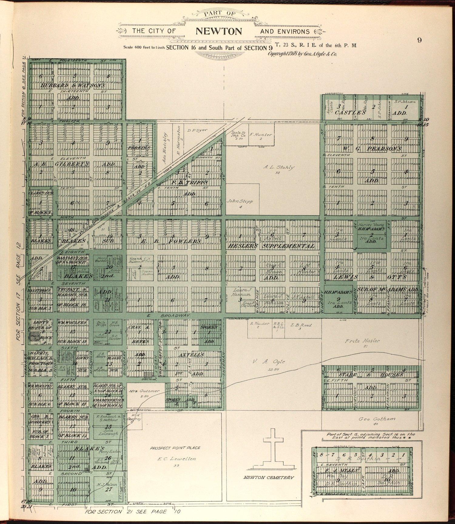 Standard atlas of Harvey County, Kansas - 9