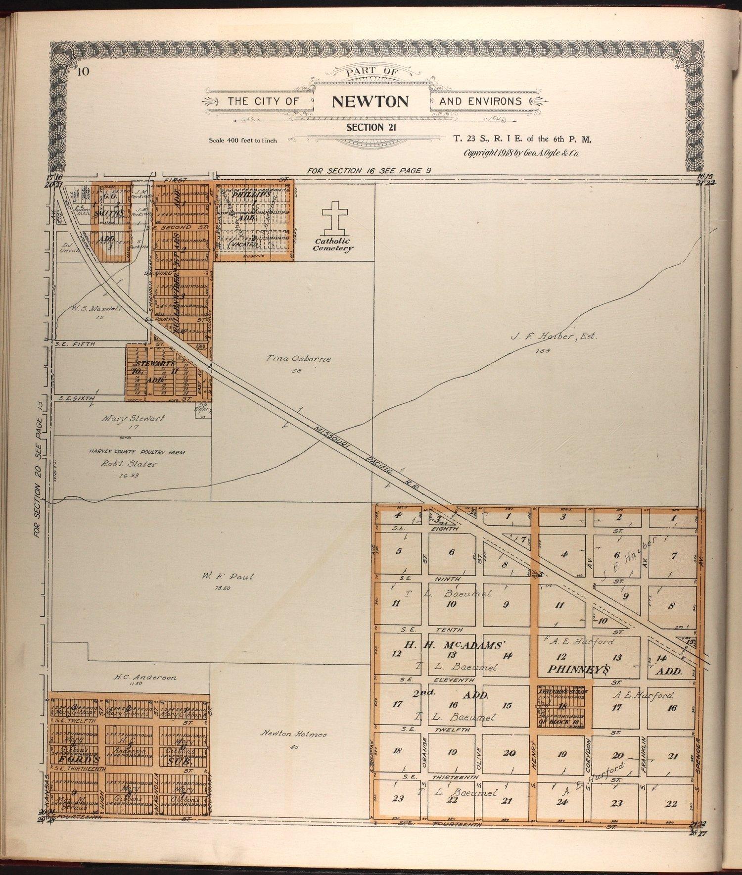 Standard atlas of Harvey County, Kansas - 10