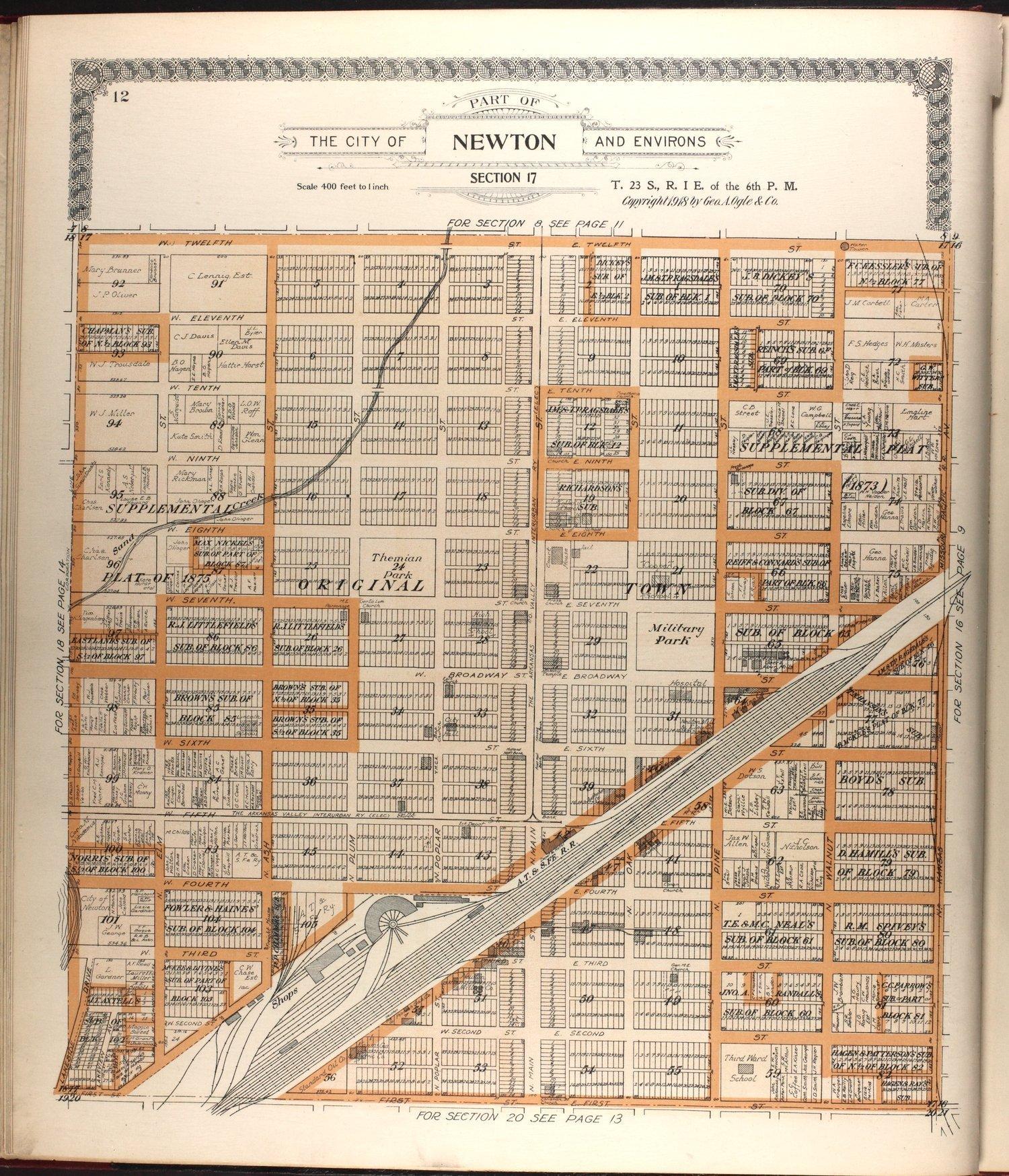 Standard atlas of Harvey County, Kansas - 12