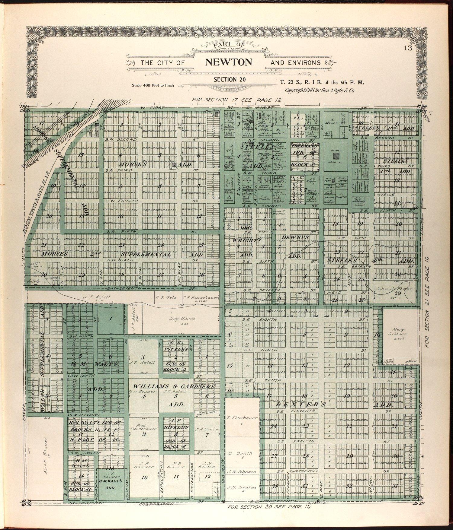 Standard atlas of Harvey County, Kansas - 13