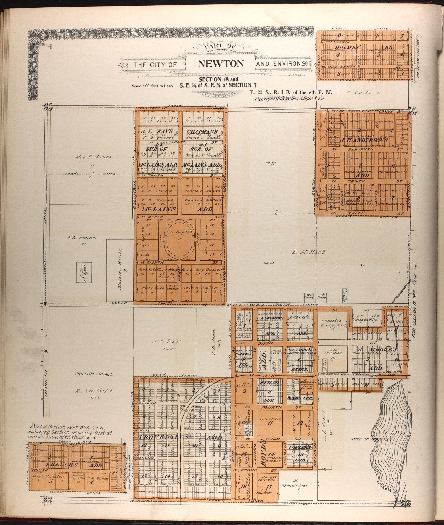 Standard atlas of Harvey County, Kansas - 14
