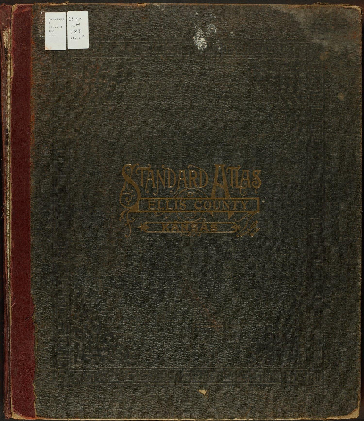 Standard atlas of Ellis County, Kansas - Front Cover