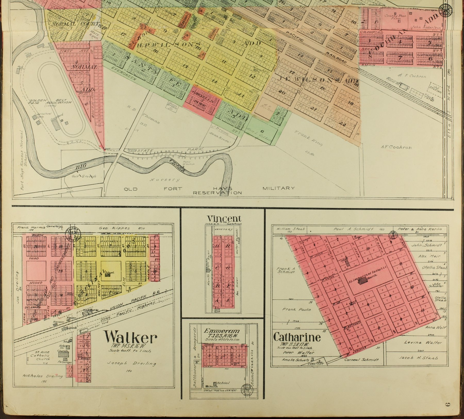 Standard atlas of Ellis County, Kansas - 9