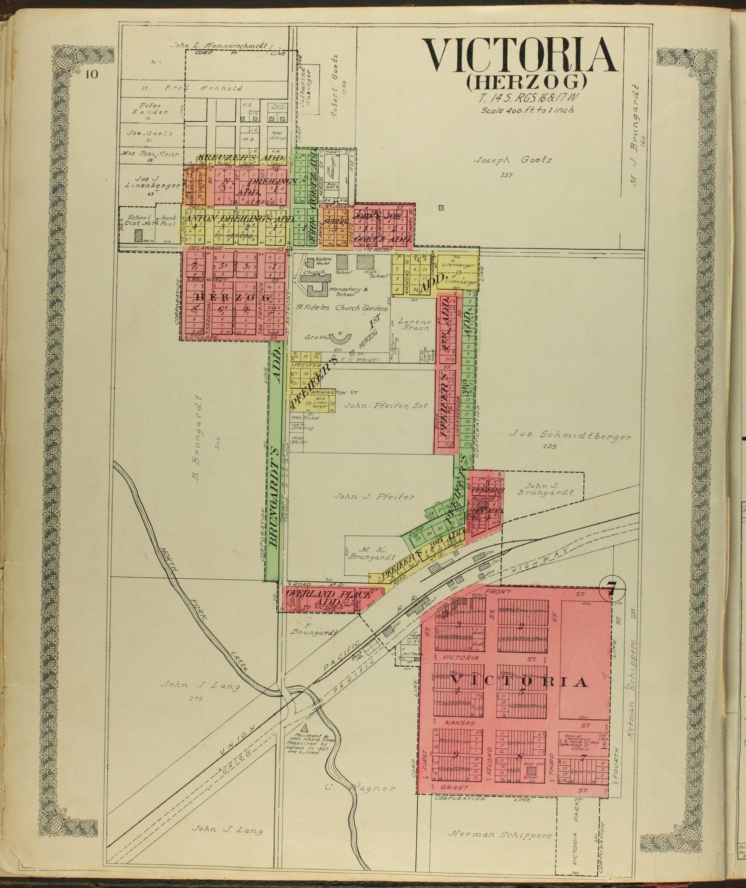 Standard atlas of Ellis County, Kansas - 10