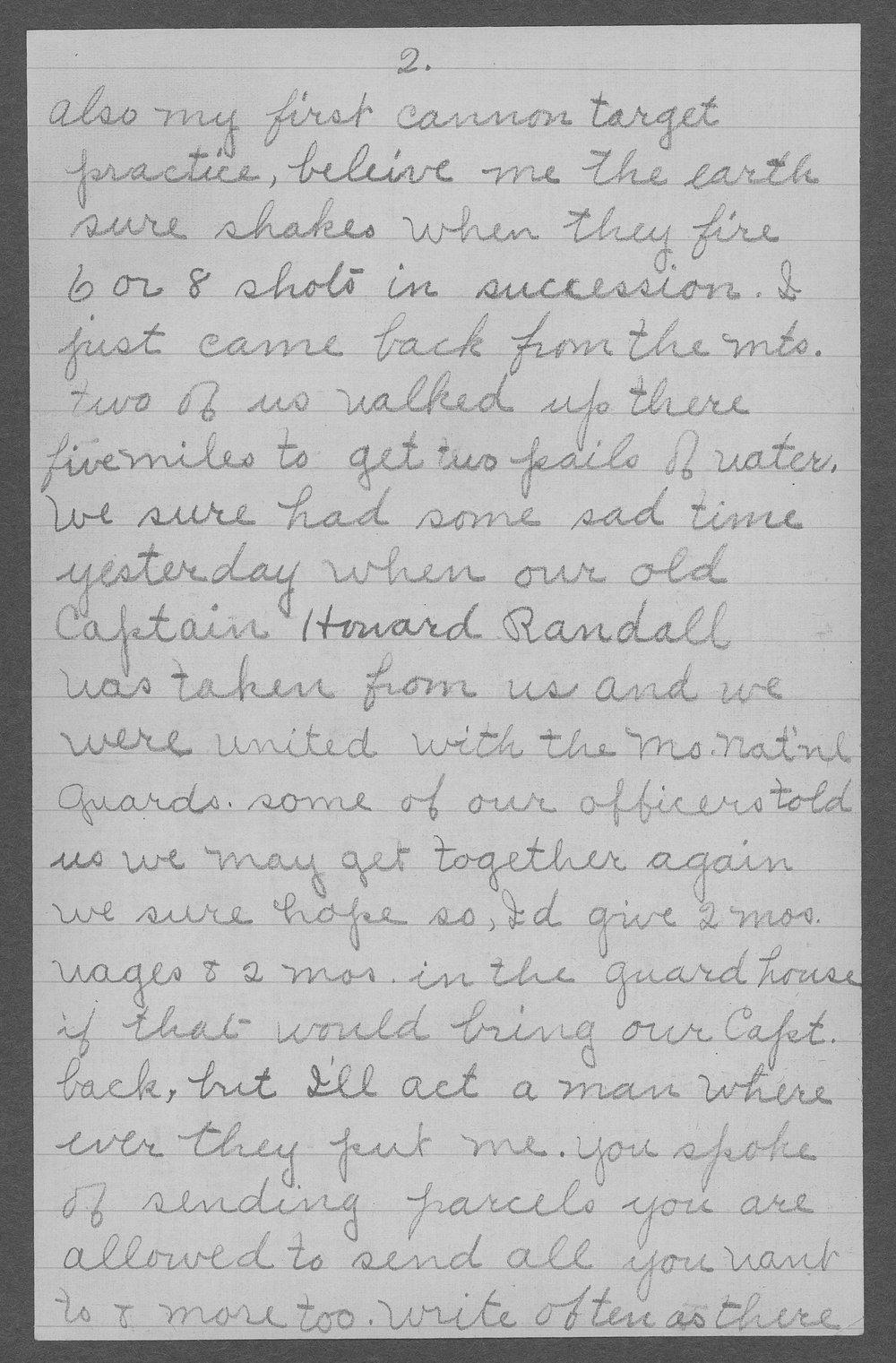George R. Schertz, World War I soldier - 3