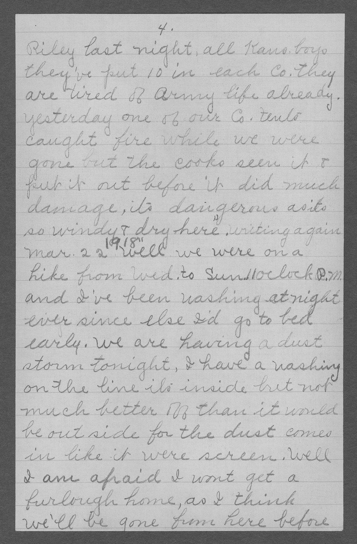 George R. Schertz, World War I soldier - 5