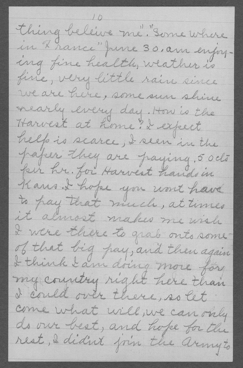 George R. Schertz, World War I soldier - 11