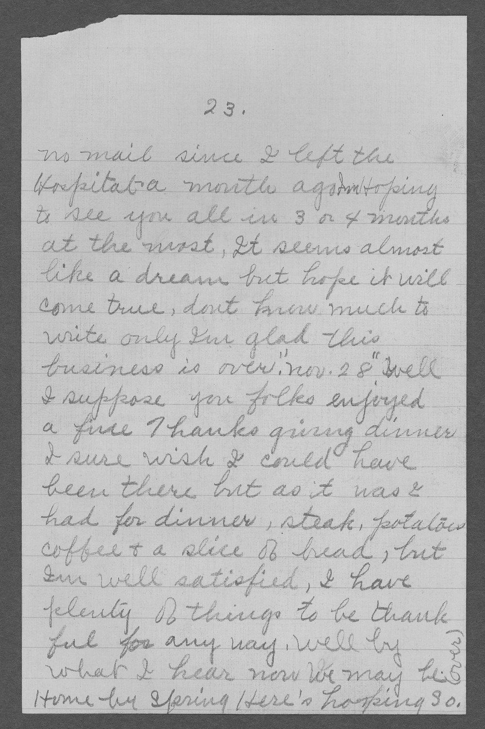 George R. Schertz, World War I soldier - 24