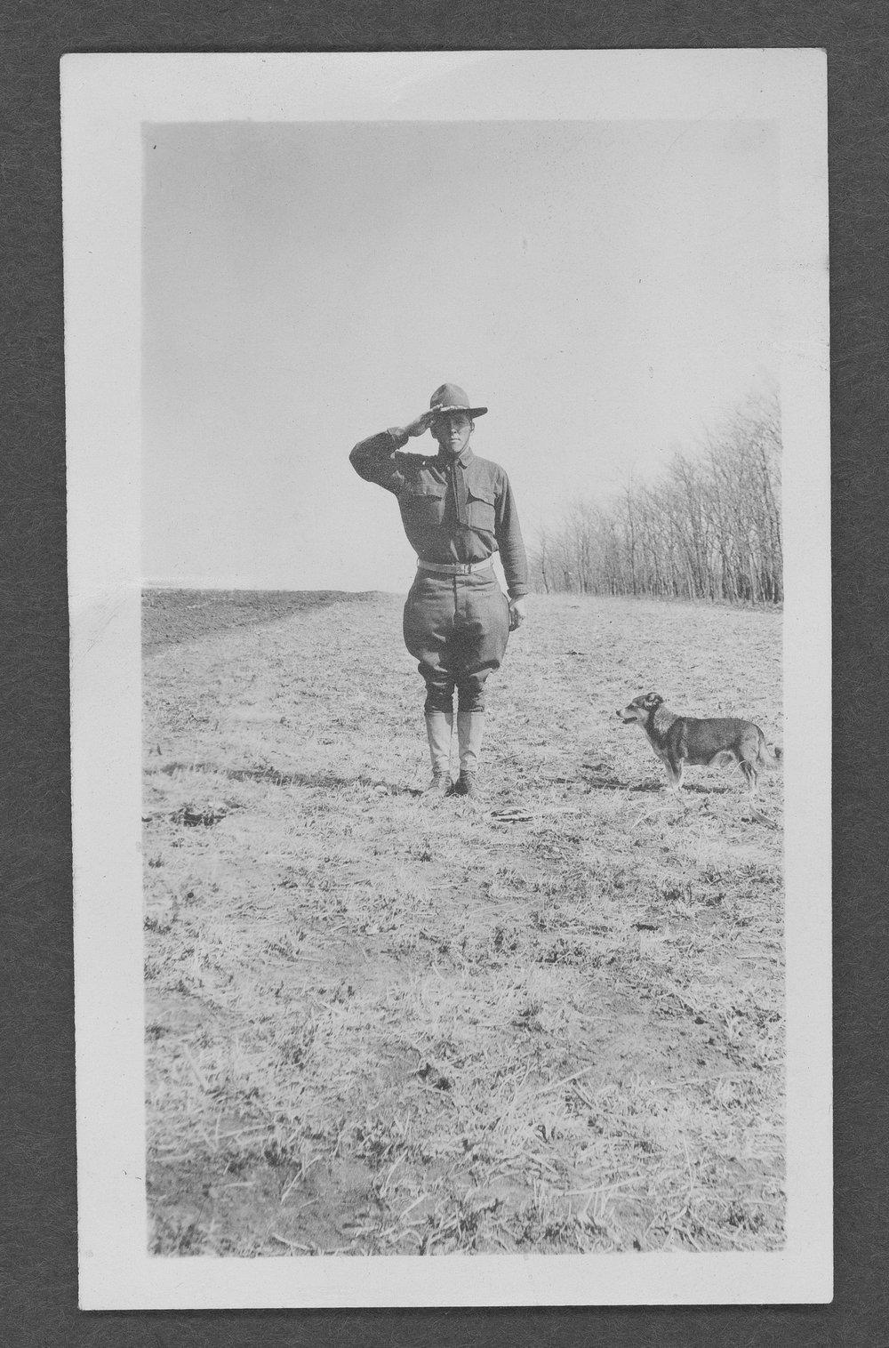 William F. Scheufler, World War I soldier - 1