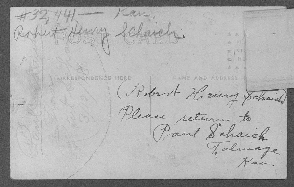 Robert Henry Schaich, World War I soldier - 5