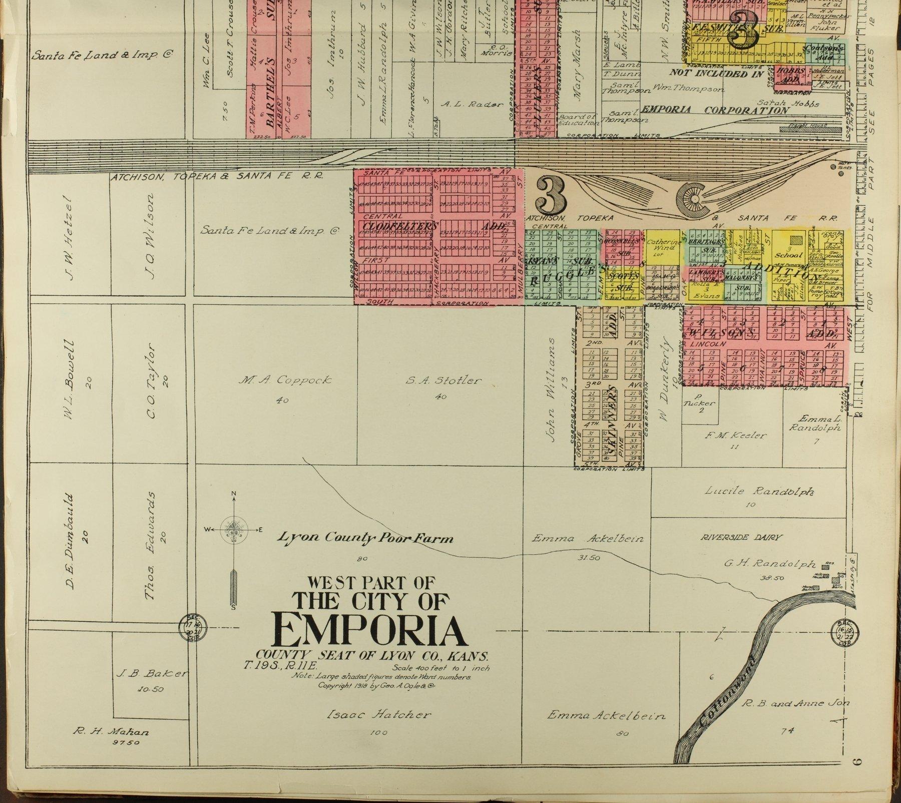 Standard atlas of Lyon County, Kansas - 9
