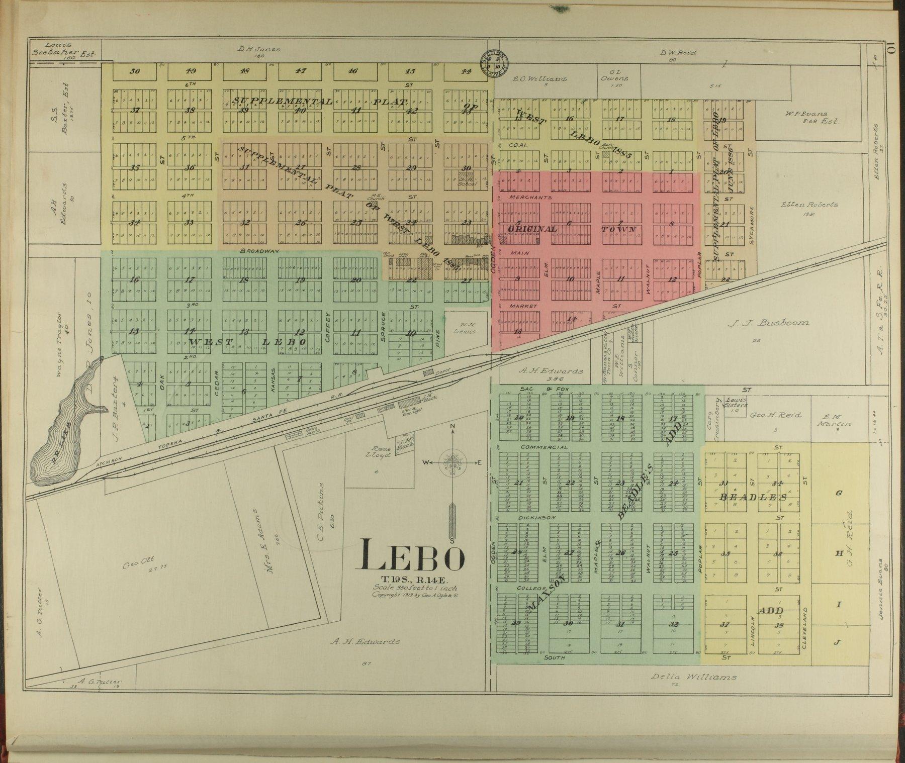 Standard atlas of Coffey County, Kansas - 10