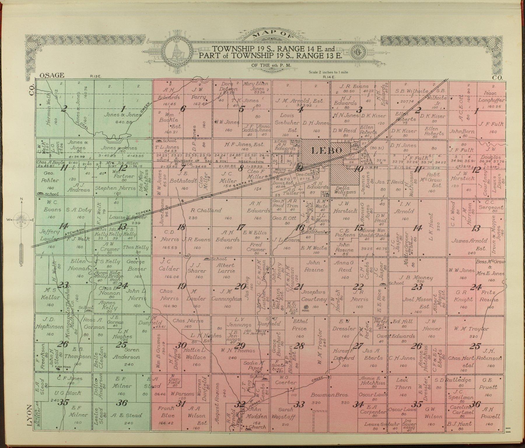 Standard atlas of Coffey County, Kansas - 11