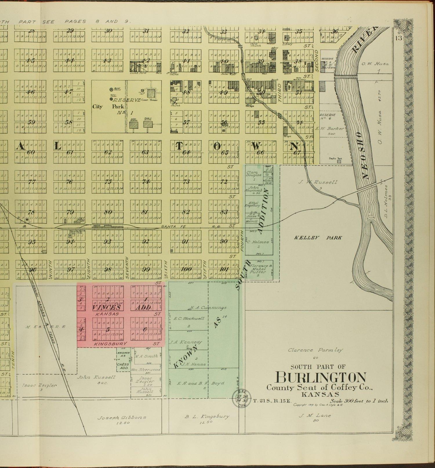 Standard atlas of Coffey County, Kansas - 13