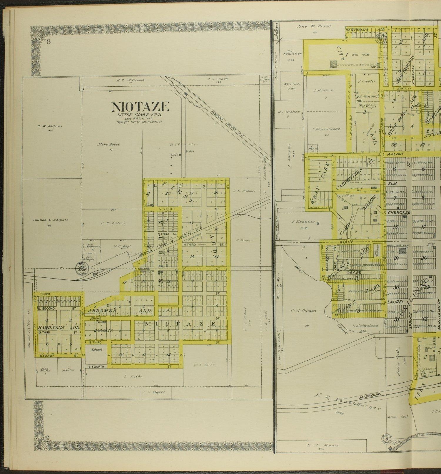 Standard atlas of Chautauqua County, Kansas - 8