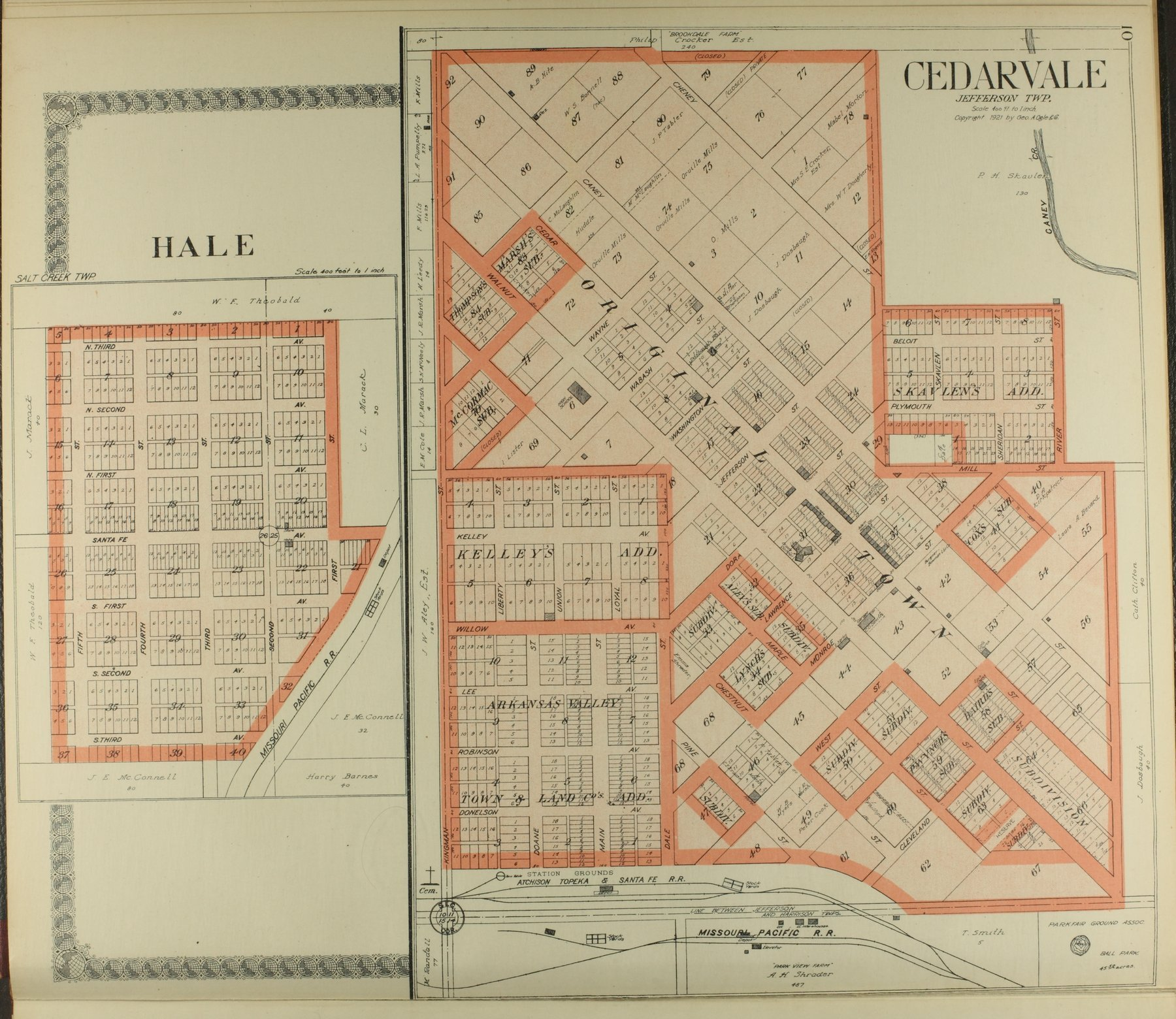 Standard atlas of Chautauqua County, Kansas - 10