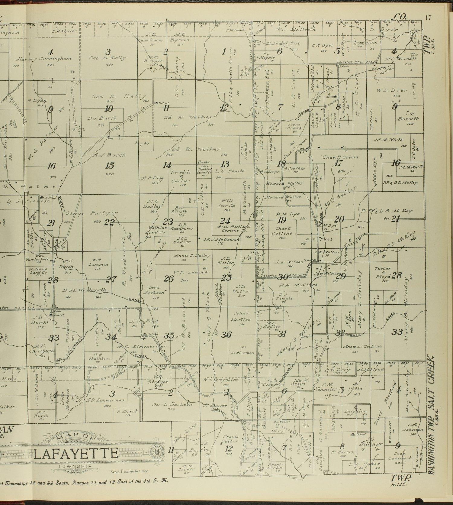 Standard atlas of Chautauqua County, Kansas - 17