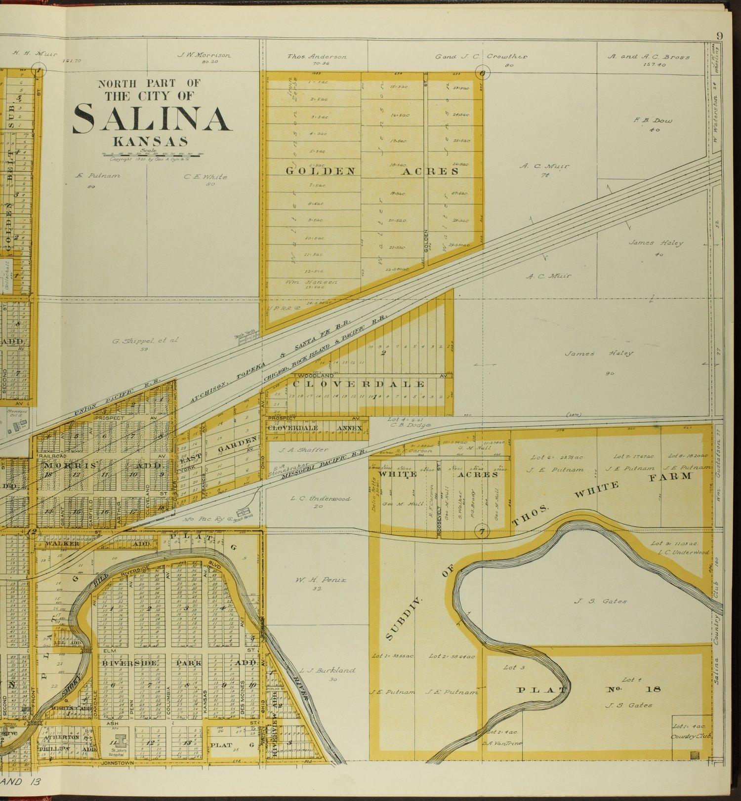 Standard atlas of Saline County, Kansas - 9