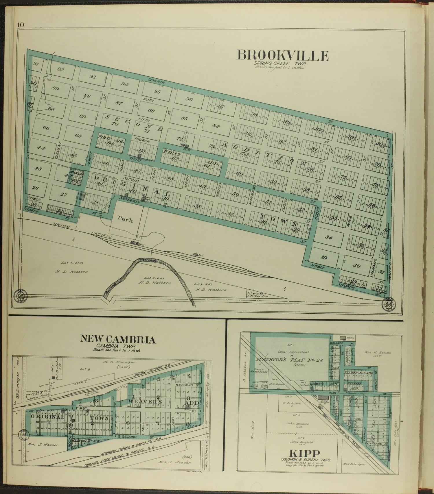 Standard atlas of Saline County, Kansas - 10