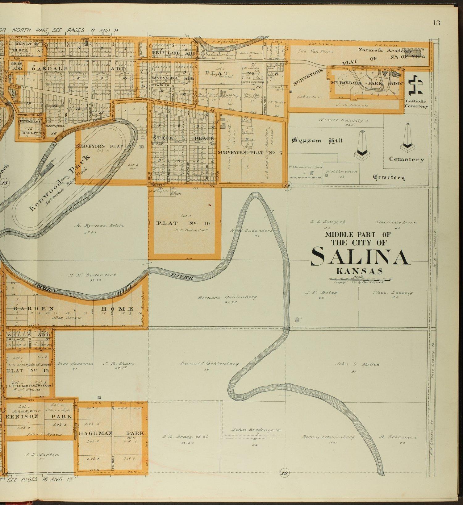 Standard atlas of Saline County, Kansas - 13