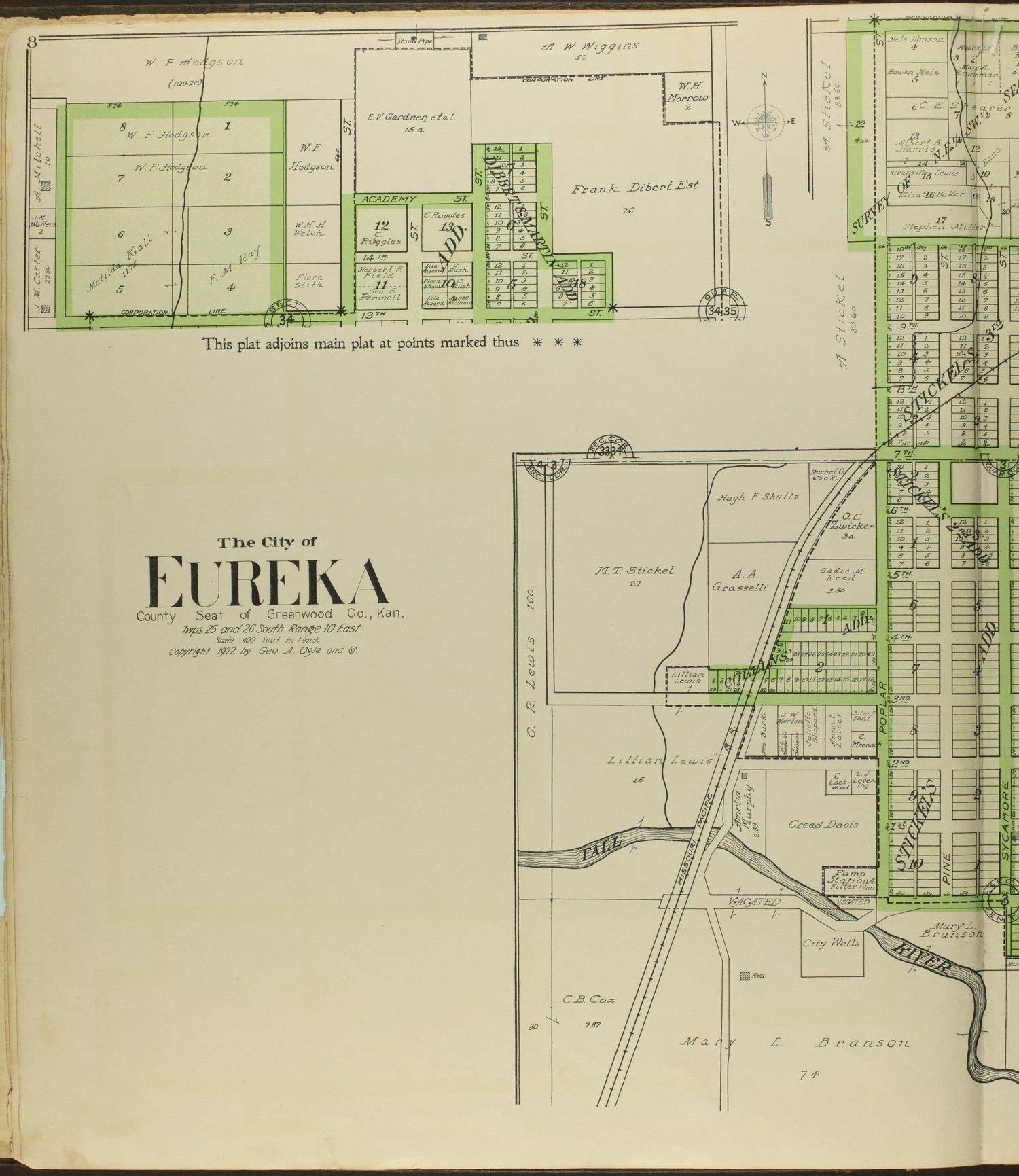 Standard atlas of Greenwood County, Kansas - 8