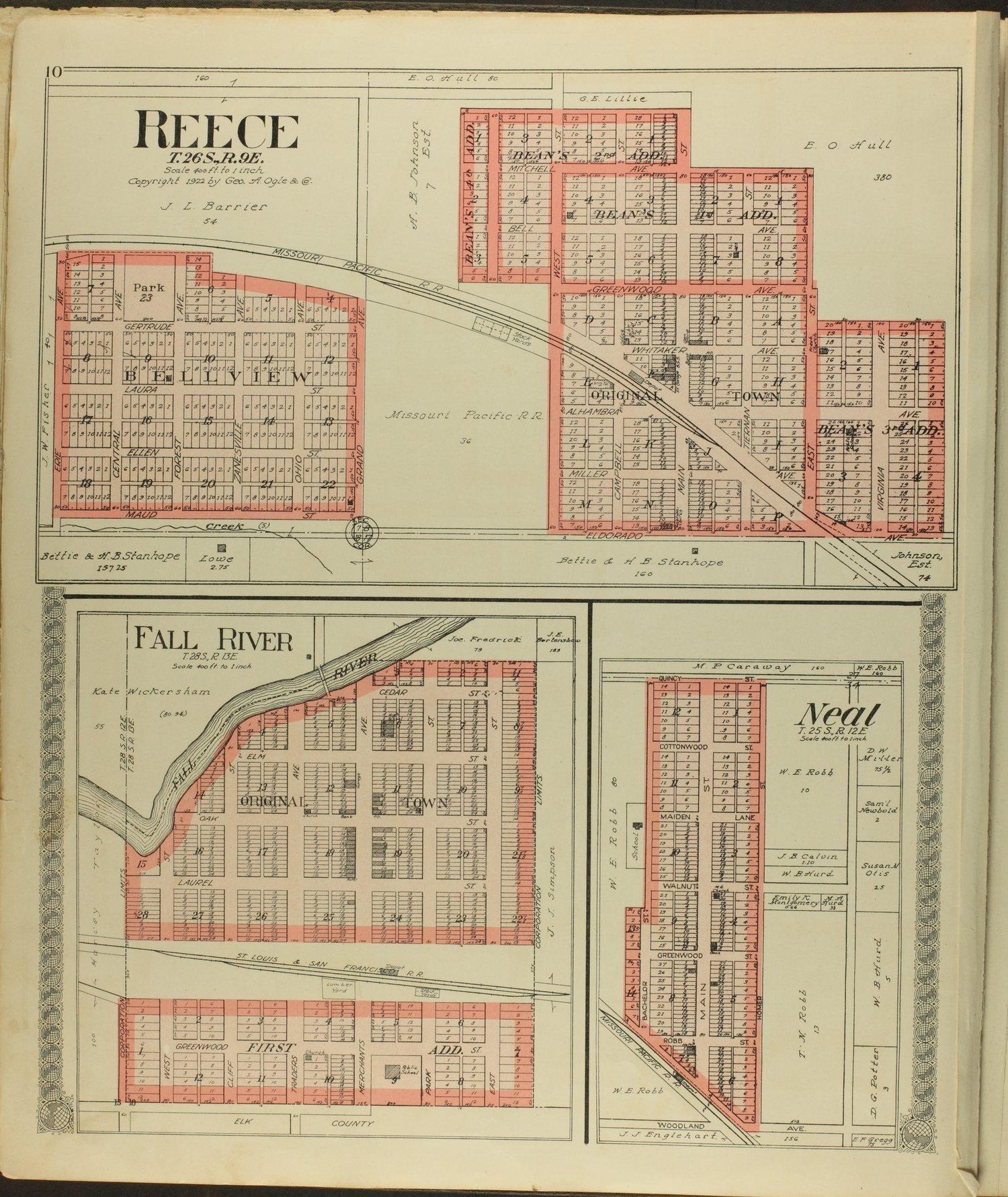 Standard atlas of Greenwood County, Kansas - 10