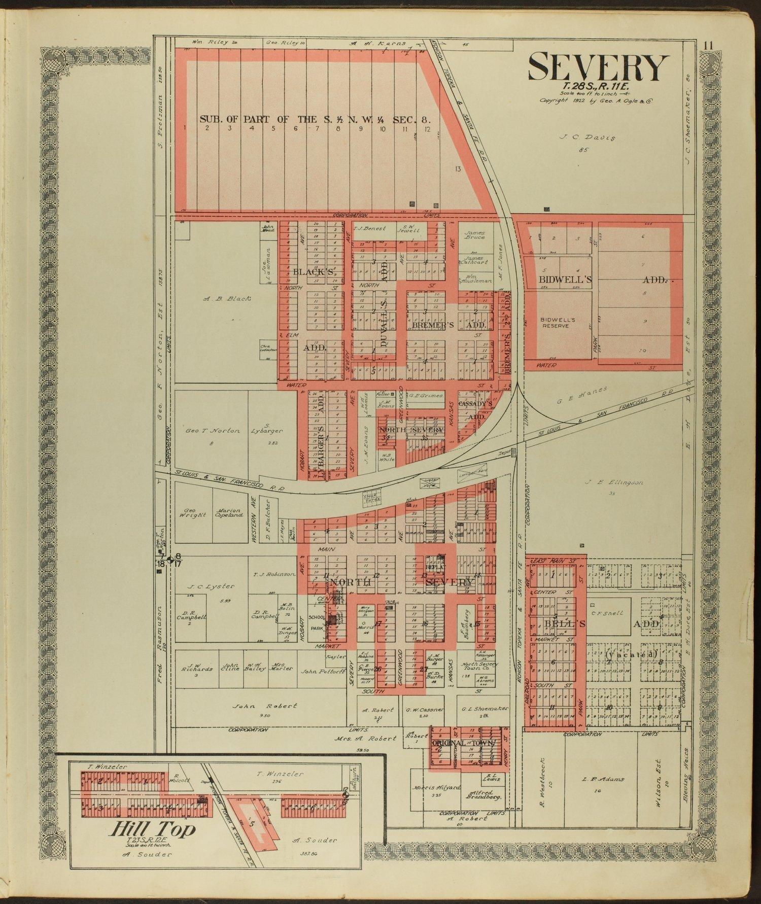 Standard atlas of Greenwood County, Kansas - 11