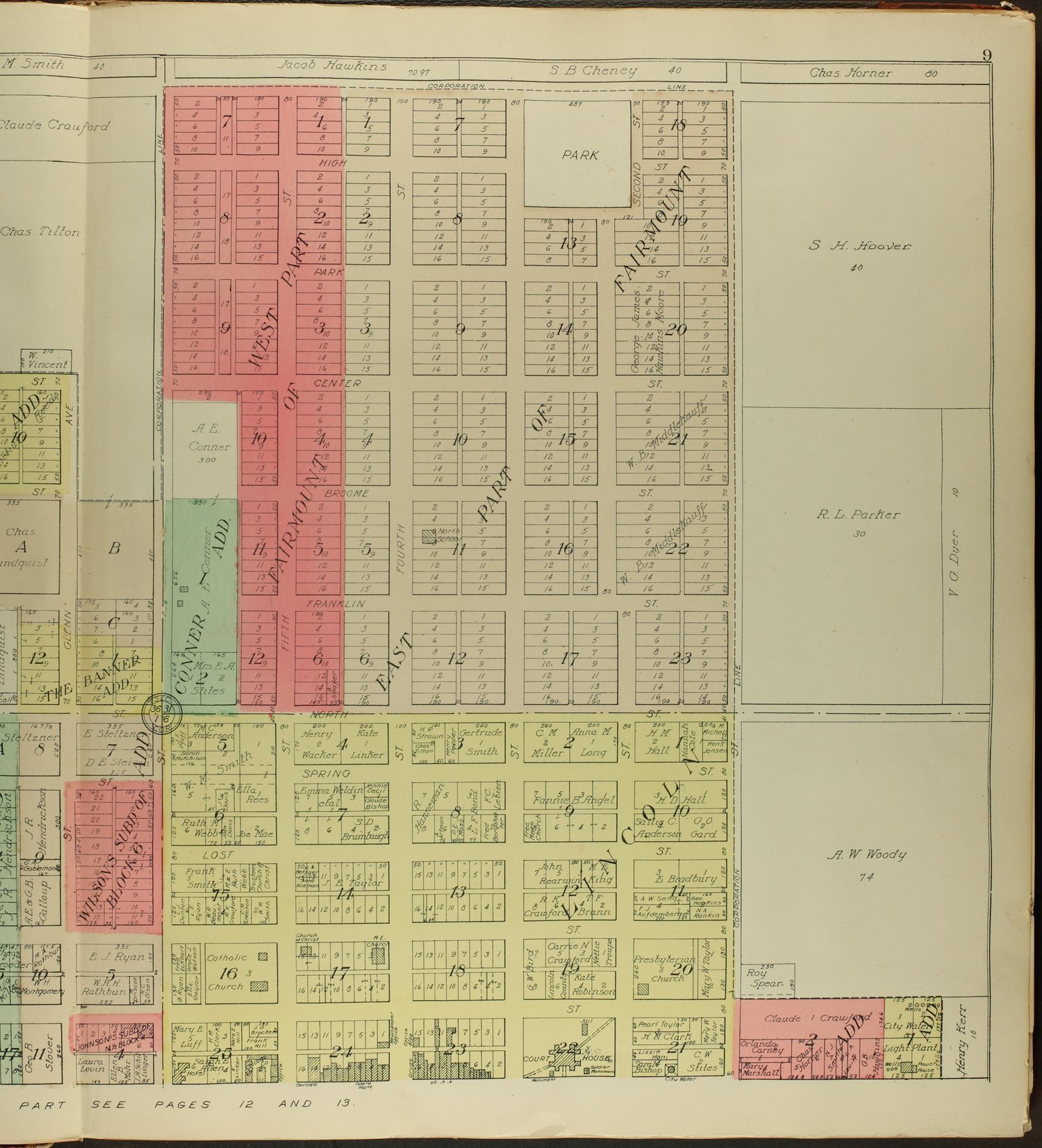 Standard atlas of Lincoln County, Kansas - 9