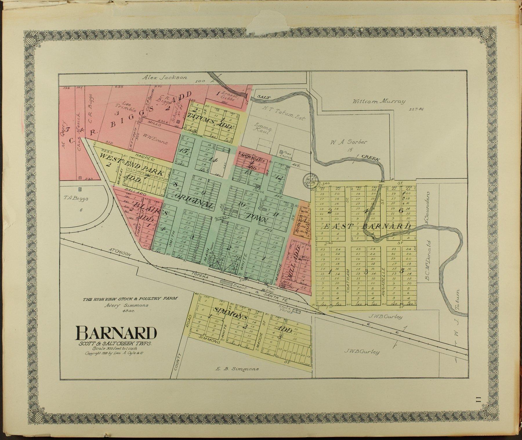 Standard atlas of Lincoln County, Kansas - 11