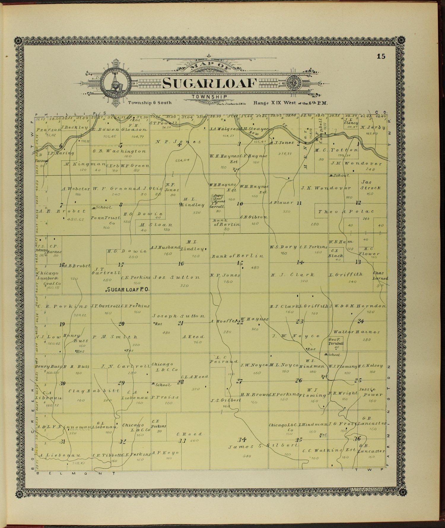 Standard atlas of Rooks County, Kansas - 15