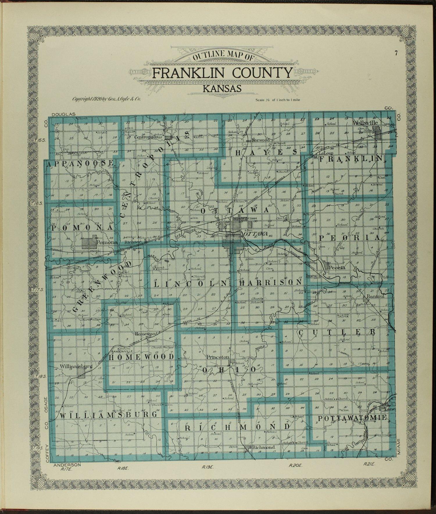 Standard atlas of Franklin County, Kansas - 7