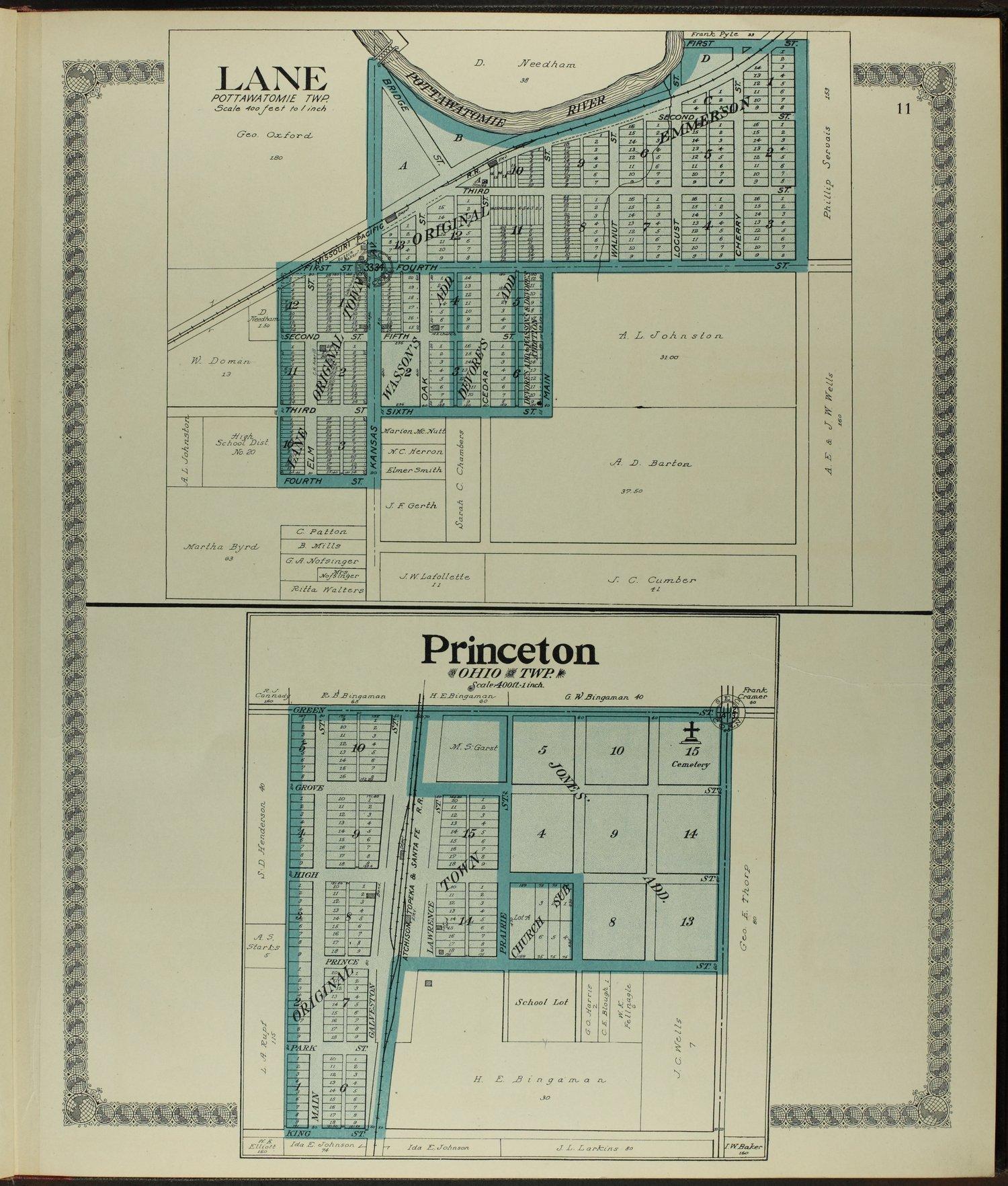 Standard atlas of Franklin County, Kansas - 11
