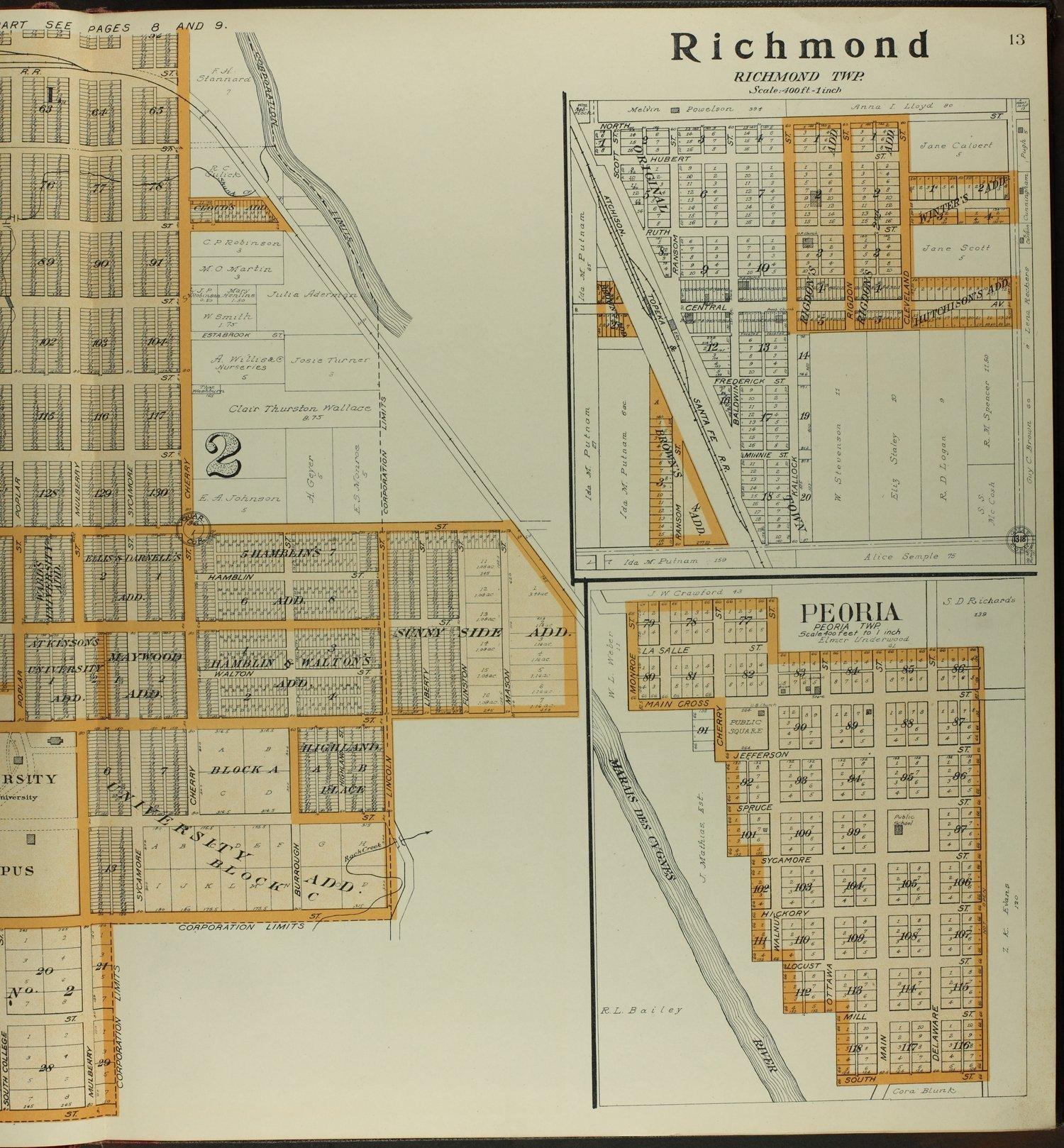 Standard atlas of Franklin County, Kansas - 13