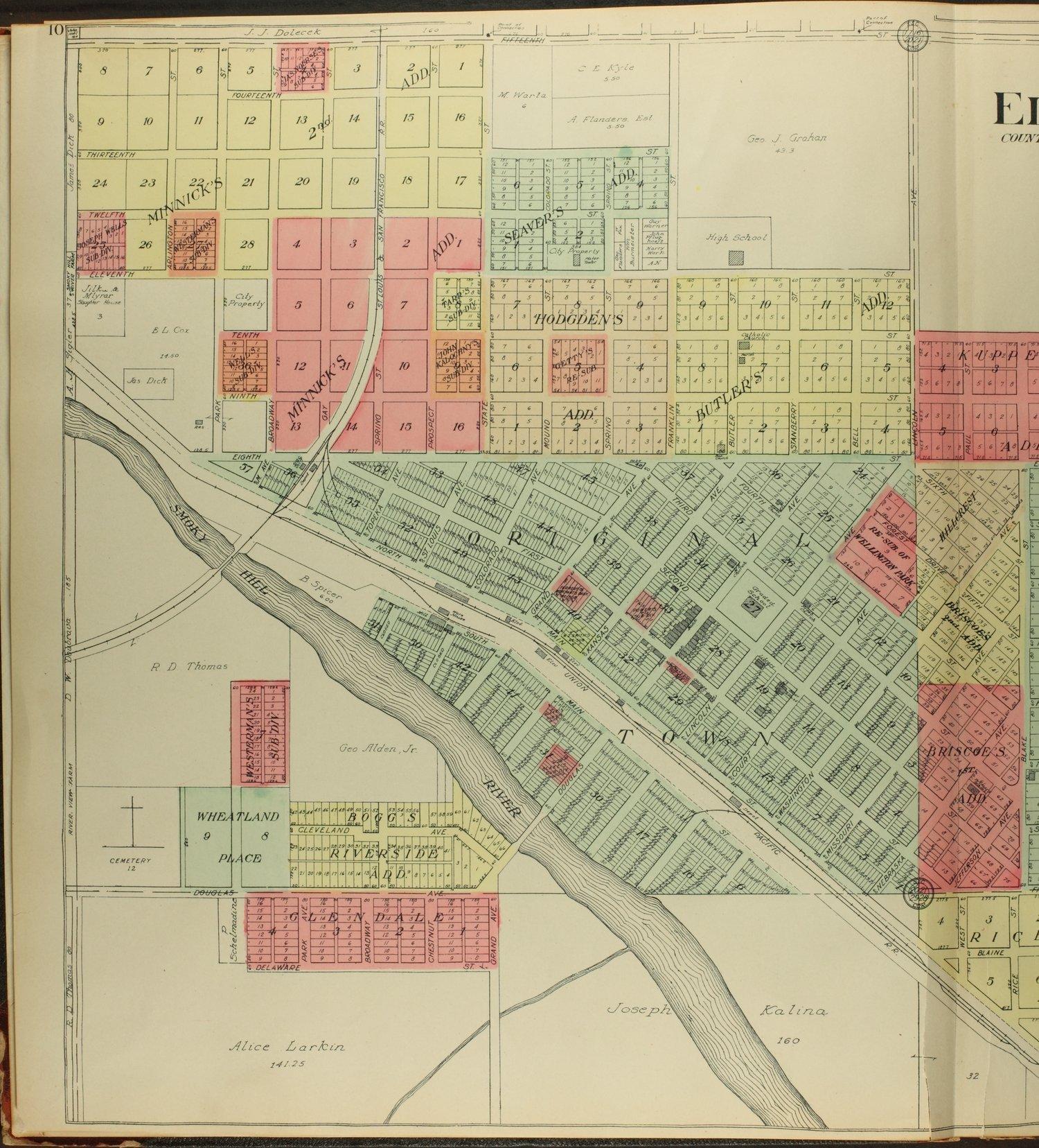 Standard atlas of Ellsworth County, Kansas - 10
