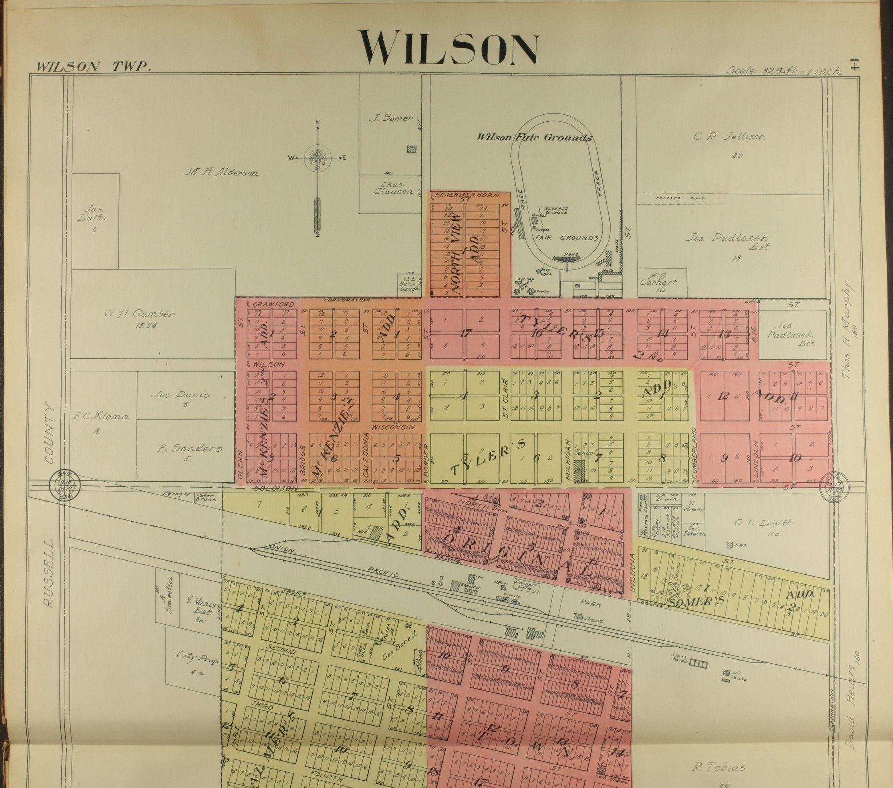 Standard atlas of Ellsworth County, Kansas - 14